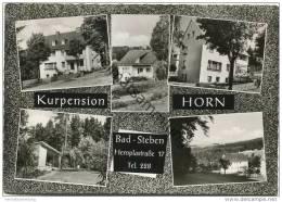 Bad Steben - Hemplastrasse 17 - Kurpension Horn - Foto-AK Grossformat - Bad Steben