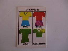 Football Futebol World Cup México 86 Group D Portugal Portuguese Pocket Calendar 1986 - Calendars