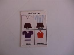 Football Futebol World Cup México 86 Group E Portugal Portuguese Pocket Calendar 1986 - Calendars