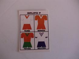 Football Futebol World Cup México 86 Group F Portugal Portuguese Pocket Calendar 1986 - Calendars