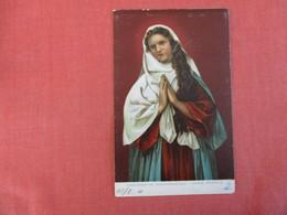 Passionsspiel Oberammergau Maria Kniebild  Scratch By Face Ref 3000 - Saints