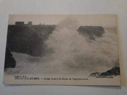 MORBIHAN   Belle-Ile-en-Mer  Grosse Lame à La Grotte De L'Apothicairerie - Belle Ile En Mer