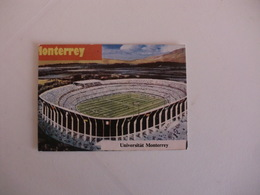 Football Futebol World Cup México 86 Stadium Monterrey Portugal Portuguese Pocket Calendar 1986 - Calendars