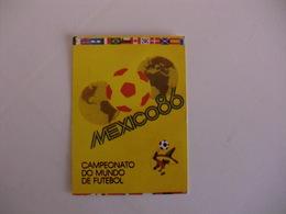 Football Futebol World Cup México 86 Portugal Portuguese Pocket Calendar 1986 - Calendars