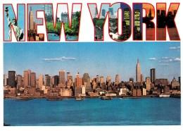 Manhattan's Skyscrapers From New Jersey, New York Unused - Manhattan