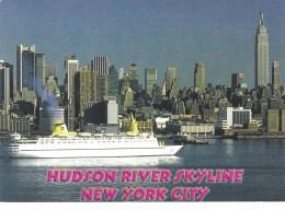 Hudson River Skyline, Manhattan, New York Unused - Manhattan