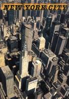 Aerial View Of Chrysler & PANAM Buildings, Manhattan, New York Unused - Manhattan