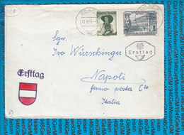Austria FDC Couvert 150 Jahre Linzer Landestheater - 17.10.1953 - FDC