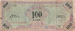 "Banconota - 100 Lire - One Hundred (valuta Militare Alleati) ""FALSO"" - [ 8] Falsi & Saggi"
