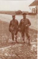 Photo 1915 Secteur LANGEMARK ??? (Langemark-Poelkapelle) - Soldats Allemands (A196, Ww1, WK 1) - Langemark-Poelkapelle
