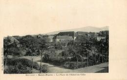 St Pierre - Ile De La Réunion - La Place De L'hôtel De Ville - WXC5 - Saint Pierre