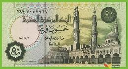 Voyo EGYPT 50 Piastres 3.8.2004 P62d B328f غ/٢٢٨ UNC Al-Azhar - Egipto
