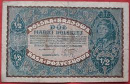 1/2 Marki 1920 (WPM 30) - Polen