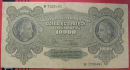 10000 Marek 1922 (WPM 32) - Polen