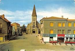 43-SAINT-JUST-MALMONT- PLACE DE L'EGLISE - France