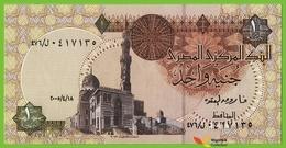 Voyo EGYPT 1 Pound 18.4.2005 P50i B316l ل/٤٧٦ UNC Sultan Quayet Bey Mosque - Egypte