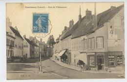 COURTENAY - Rue De Villeneuve - Courtenay