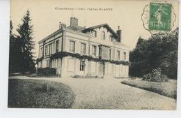 COURTENAY - Château SAINTE ANNE - Courtenay
