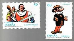 España Personajes De Tebeo 1995 (El Capitán Trueno Víctor Mora Pujadas / Carpante José Escobar Saliente) - Volledige Vellen