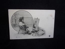 """Enfants. Série """" Bébé Artiste """"  N°4 .Avant 1903. Voir 2 Scans . - Children"""