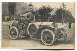 Circuit De Dieppe (76) - Bablot Sur Lorraine Diétrich - Early Sports Car, Driver And Navigator - Dieppe