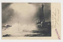 AJ03 Storm At Blackpool - Tuck Specimen, UB - Blackpool