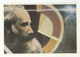 1989 Pioneer JAMES CLERK MAXWELL ,ELECTROMAGNETIC Art Scottish Post Office Board Postcard Gb Physics - Famous People