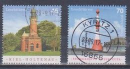BRD 2017 Leuchtturm Kiel + Bremerhaven Gestempelt Mi 3316 3317 - Used Stamps