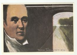 1989 Pioneer THOMAS TELFORD,  CANAL Art Scottish Post Office Board Postcard Gb - Ships
