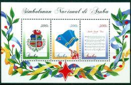 Aruba 2016   Nationale Symbolen Blok    Postfris/mnh/neuf - Periode 1980-... (Beatrix)