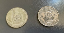 INGHILTERRA - GREAT BRITAIN - 1951 - Moneta 1 SHILLING - GIORGIO VI , Ottima - I. 1 Shilling