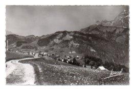 (73) 501, Crest-Voland, Jansol 1165, Sur La Route Du Col Des Saisies Et Le Mont Charvin - Francia