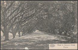 Road To Ganesh Khuna, Poona, C.1910s - Phototype Postcard - India