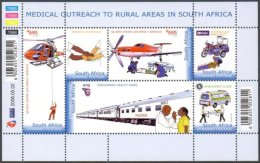 South Africa 2006 Rural Medical Outreach (ss/6v), MNH - South Africa (1961-...)