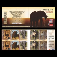 South Africa 2006 Big 5 Booklet, MNH - Carnets