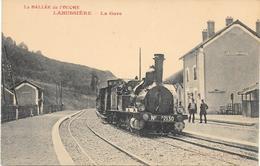 LABUSSIERE - CP - La  Vallée De L'Ouche - LA GARE - France
