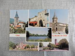 CARTE POSTALE   DE  LA ROCHE DE GLUN - France