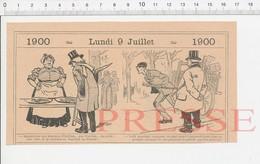 2 Scans 1900 Humour Marchande D'huitres Pas Fraîches Ostréiculture Onguent Mexicain Maladie Goutte Poisson Turbot PF222B - Vecchi Documenti