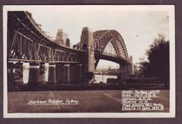 1920s Unused New South Wales Australia Postcard Showing Harbour Bridge Sydney NSW Mowbray Series - Sydney