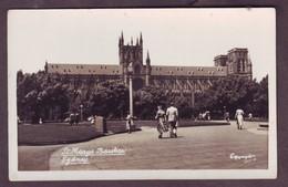 1920s Unused New South Wales Australia Postcard Showing St Mary' Basilica Sydney NSW Mowbray Series - Sydney