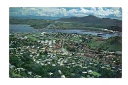 PANAMA - Balboa & La Boca, Air View, Stamp Polynesie Francaise - Panama