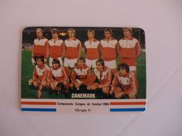 Football Futebol France Euro Cup 1984  Danmark Team Portugal Portuguese Pocket Calendar 1984 - Calendars