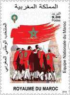 MOROCCO MAROC MAROKO EQUIPE NATIONALE DU MAROC 2018 - Morocco (1956-...)