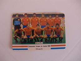 Football Futebol France Euro Cup 1984 España Spain Team Portugal Portuguese Pocket Calendar 1984 - Calendars