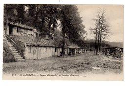 CPA Militaria Vienne Le Château 51 Marne Guerre 14-18 La Harazée Cagnas Allemandes éditeur LL N° 515 - Autres Communes