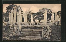 CPA Colombo, Mone Stone Steps, Anuradhapura - Sri Lanka (Ceylon)