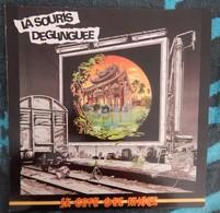 """DISQUE VINYL LP 33 TOURS LA SOURIS DEGLIGUEE """"LA CITE DES ANGES  ANNEE 1984 RARE - Punk"""