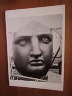 Face Of The Statue Of Liberty Before Assemblage At Beldoe's Island, 1885. Spano / Fotofolio SL6 - Statue De La Liberté