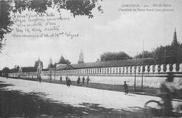 CAMBODGE PNOM PENH  L'enceinte Du Palais Royal    2scans - Cambodge