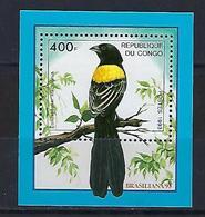 "Congo Bloc YT ??? MI 123 "" BRASILIANA, Philatélie "" 1993 Neuf** - Congo - Brazzaville"